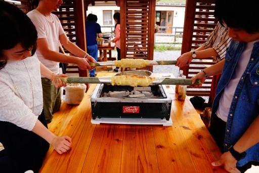 4月29日(月祝)名古屋発「採れたて野菜BBQとバームクーヘン作り&長浜レトロ散策」結果報告