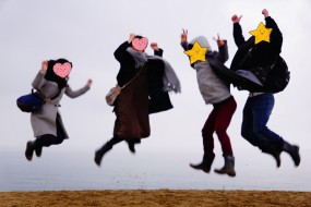 12/08(日)大阪梅田発「漁師焼き海鮮料理と大人気の砂の美術館3Dマッピング&昼と夜の鳥取砂丘を見学!イルミネーション」結果報告♪