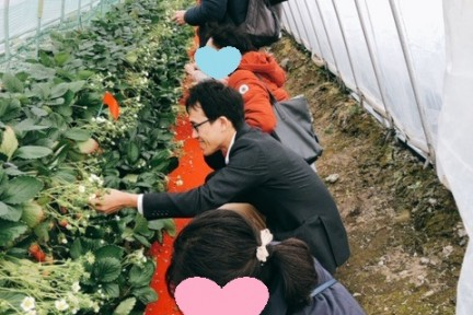 1/24「肉バルジョーズキッチンと日本平夢テラス&いちご狩り」結果報告♪