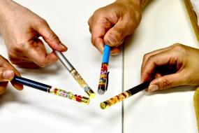 ハーバリウムペン作り体験×恋活♥結果報告